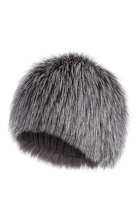 шапка из меха лисы Slava Furs
