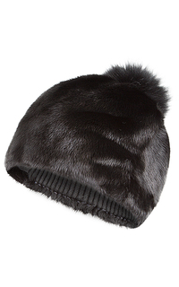 шапка из меха норки Slava Furs
