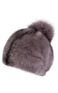 Шапка из меха норки и песца Slava Furs