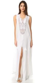 Льняное макси-платье Lana Miguelina