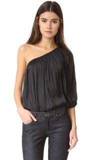 Блуза на одно плечо Smythe