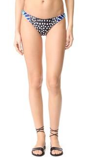 Присборенные плавки бикини в бразильском стиле Mara Hoffman