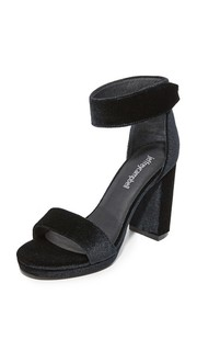 Бархатные сандалии Lindsay Jeffrey Campbell