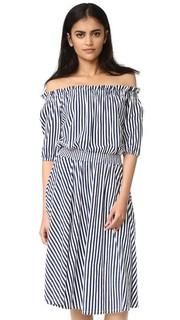 Облегающее платье со сборками MDS Stripes