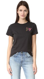 Классическая футболка с вышивкой Marc Jacobs