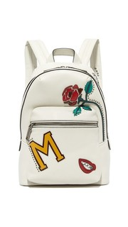 Байкерский рюкзак Biker MJ с коллажем Marc Jacobs