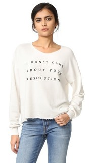 Толстовка No Resolution Wildfox