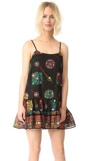 Пляжное платье с вышивкой Juliet Dunn