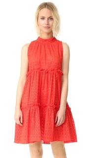 Многоярусное платье с оборками Lisa Marie Fernandez