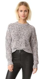 Трикотажный пуловер T by Alexander Wang