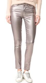 Металлизированные джинсы Intropia