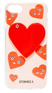 Чехол Cute Hearts для iPhone 7 Iphoria