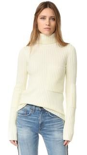 Рубчатый свитер с высоким воротником Joseph