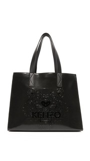 Объемная сумка с короткими ручками Kenzo