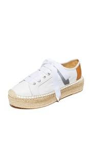 Кожаные кроссовки в стиле эспадрилий Eze Matt Bernson