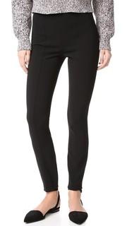 Облегающие брюки с высокой талией T by Alexander Wang