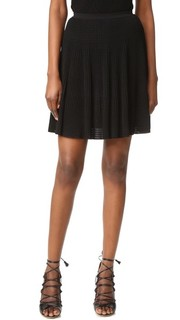 Плиссированная юбка Versace