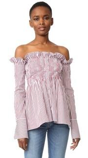 Рубашка с открытыми плечами Victoria Victoria Beckham