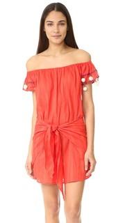 Платье Marisol с открытыми плечами и юбкой с запахом Basta Surf