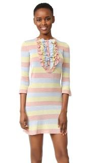 Платье в полоску Boutique Moschino