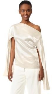 Блуза Ilona с отверстиями в рукавах Christopher Esber