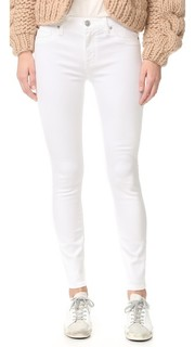 Nico Mid Rise Super Skinny Ankle Jeans Hudson
