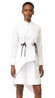 Платье из поплина Jonathan Simkhai