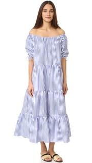 Многоуровневое платье в сельском стиле MDS Stripes