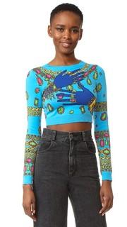 Укороченный свитер Moschino