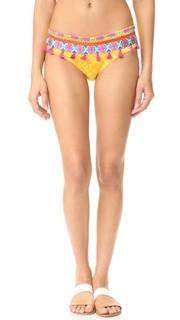 Плавки бикини Limoncello с вышивкой Ondade Mar