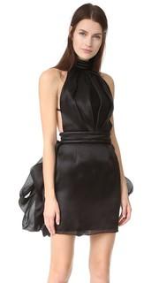 Мини-платье Brandon Maxwell