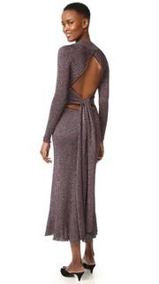 Платье с длинными рукавами Cedric Charlier