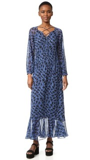Платье на шнуровке Derek Lam