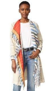 Жаккардовое пальто Giada Forte