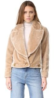 Куртка с искусственным мехом Intropia