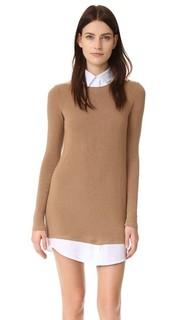 Комбинированное платье-свитер Cher Bailey44