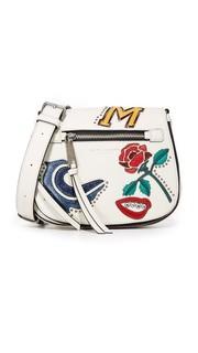 Маленькая седельная сумка MJ Collage Nomad Marc Jacobs
