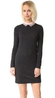 Платье-свитер Lissah с кружевным воротником Club Monaco