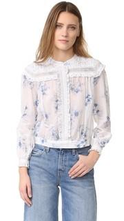 Блуза с цветочным рисунком Intropia
