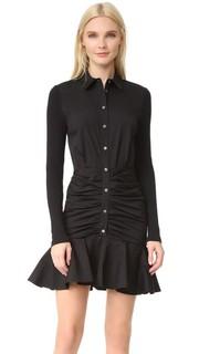 Короткое платье в рубчик Century Baby Veronica Beard