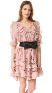 Платье Winsome Sphere с оборками Zimmermann