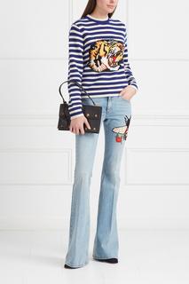 Расклешенные джинсы Gucci