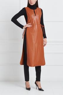 Платье из эко-кожи Masterpeace