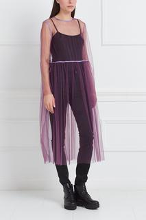 Полупрозрачное платье Les