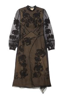 Платье с вышивкой Brianna Erdem