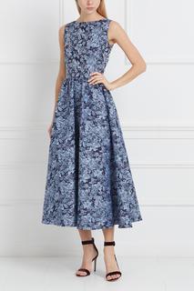 Платье с принтом Yulia Prokhorova.Beloe Zoloto