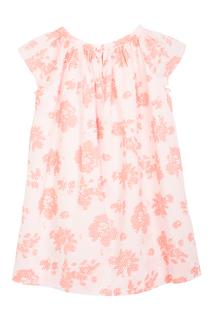 Хлопковое платье Cotillon Bonpoint