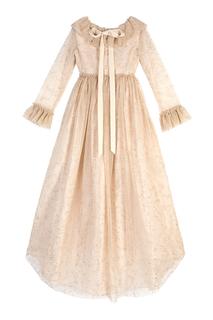 Шелковое платье Diademe Bonpoint