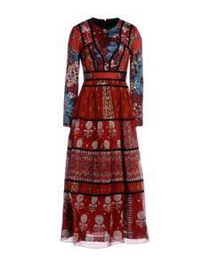 Длинное платье Burberry Prorsum