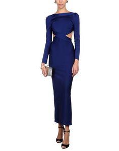 Длинное платье Herve L. Leroux
